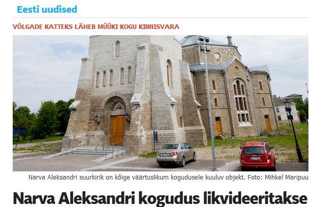 Viron kirkko Narva