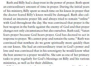 Billy and Ruth Graham prayer