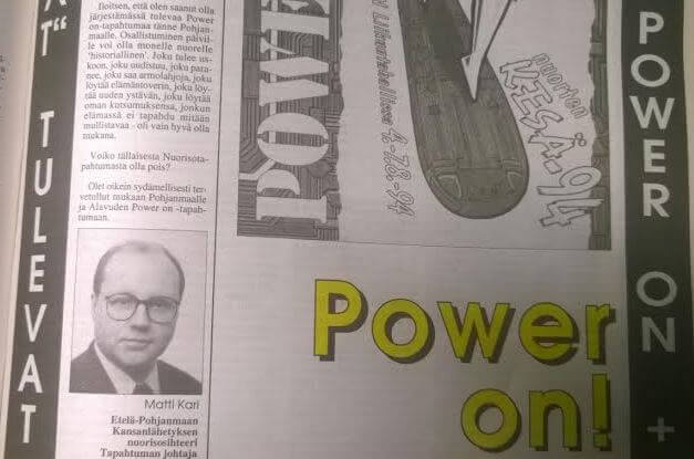 Matti Kari Kansanlähetyksen nuorisotyössä