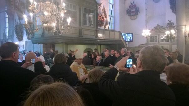 Viron ev.lut. kirkon arkkipiispan vihkimys