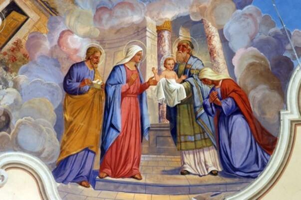 Kynttilänpäivän saarna Luuk 2