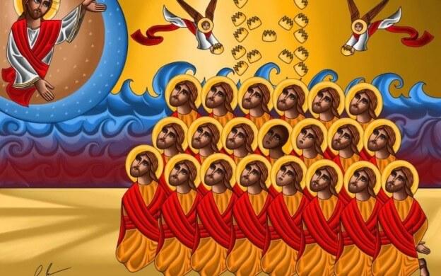 21 uskonsa vuoksi tapettua kristittyjä ISIS