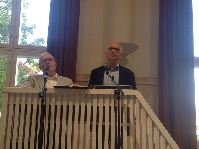 Norjalainen teologi ja opettaja Rolf Kjöde opetti Kansanlähetyksen vastuunkantajaretriitissä syyskuussa. Hän puhui uskonpuhdistuksen aarteista sekä rohkaisi evankelioimiseen. Tässä erilaiset yhteisöt ovat avainsana.
