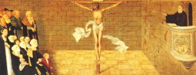 Jeesus ristiinnaulittuna