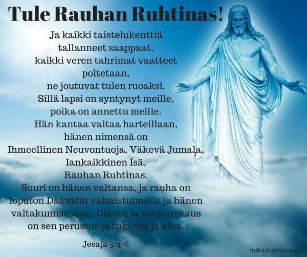 Jeesus Rauhan Ruhtinas