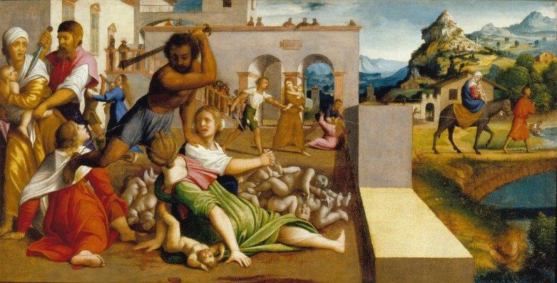 Neljäs joulupäivä - Herodes surmauttaa Betlehemin lapset