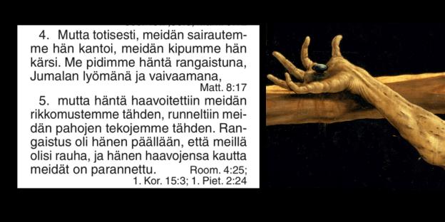 Jesajan kirja 53 Herran palvelija