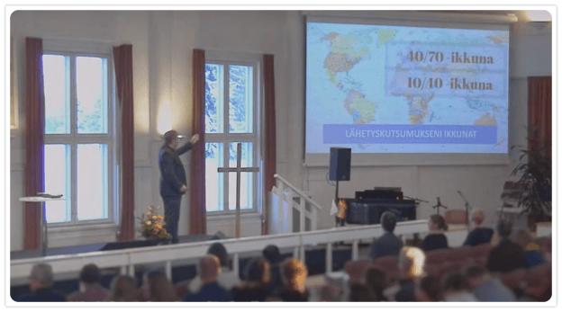 Lähetystyön kohteet
