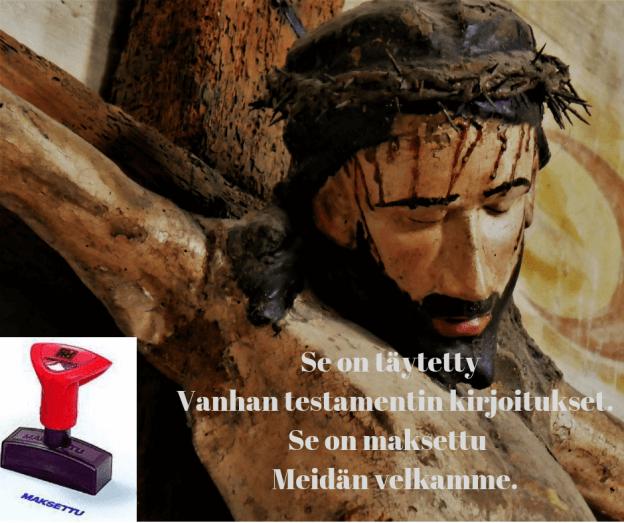 Jeesuksen kuolema ristillä