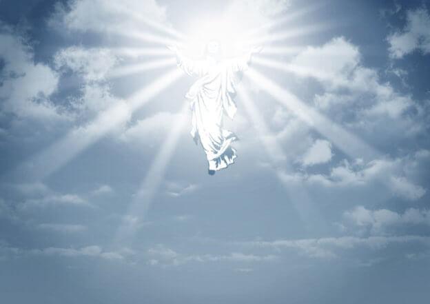 Jeesus Kristus astui ylös taivaaseen