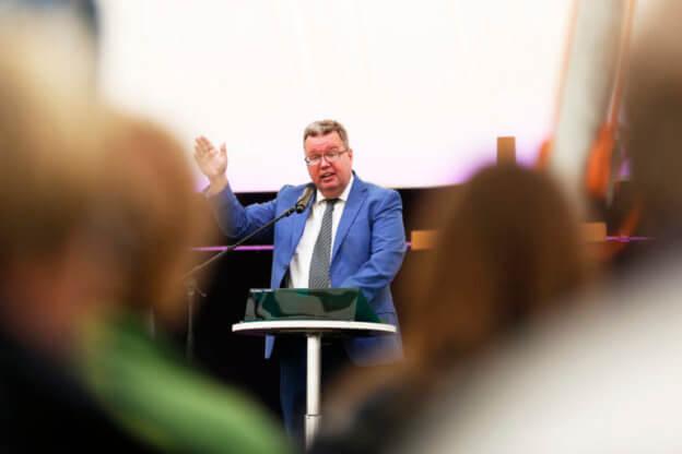 Kansanlähetyspäivät puhe Mika Tuovinen kuva Matti Korhonen